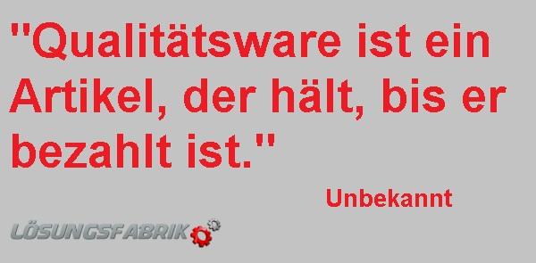 Qualitaetsware