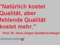 Qualität-Kosten