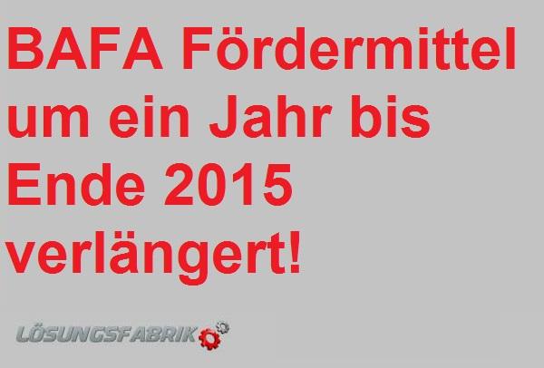 BAFA-Foerdemittel